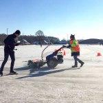 IJsbaan Schuthekkeweg met geweldig ijs