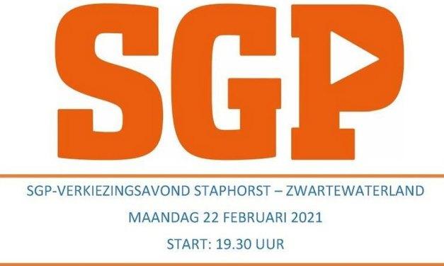 Verkiezingsbijeenkomst SGP in coronatijd via MS-Teams