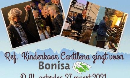 Vanavond Livestream Kinderkoor Cantilena zingt voor Bonisa