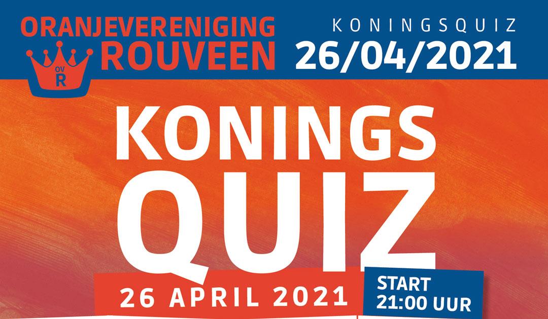 KoningsQuiz Rouveen op 26 april