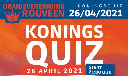 KoningsQuiz Rouveen op 26 april