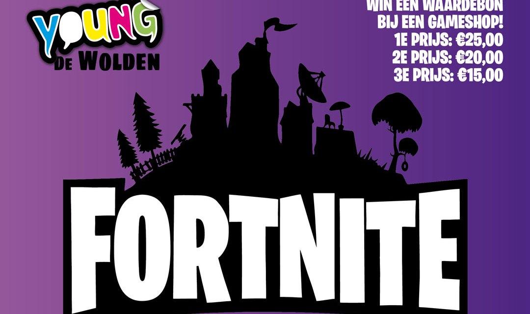 Regionaal  Fortnite toernooi voor jongeren (12+) (Update, nu met link om aan te melden)