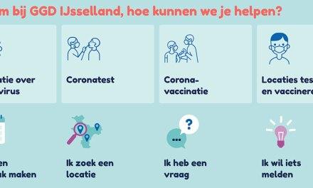 Vrijdag 4 juni start GGD IJsselland weer met registratie in gele boekje