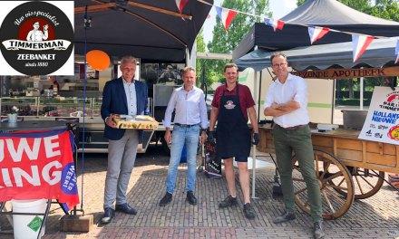 Vishandel Timmerman verzorgt smulpakket voor Sport en Business Staphorst!