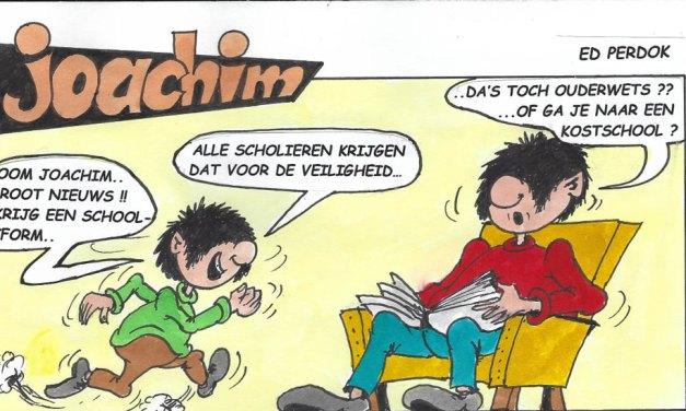 Joachim door Ed Perdok weer terug: Schooluniform