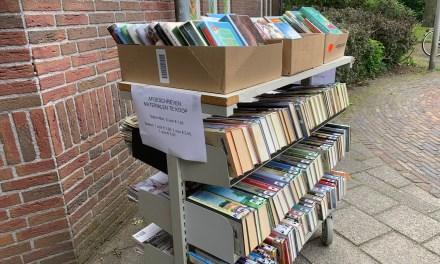 Boekverkoop in de zomer