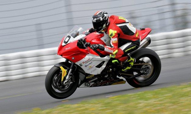 Danny van der Sluis klaar voor de zesde en zevende race van het Dutch Superbike seizoen
