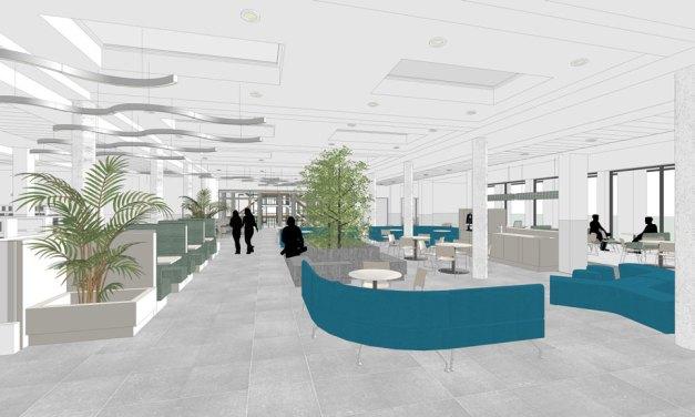 Hogeschool Viaa start renovatie benedenverdieping