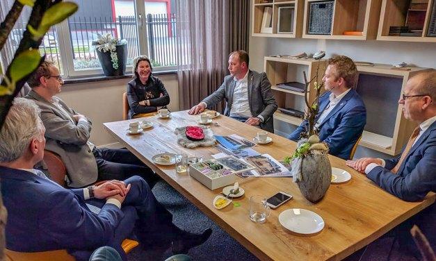 College Staphorst op bedrijfsbezoek