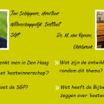 SGPJ Staphorst praat over kostwinnerschap