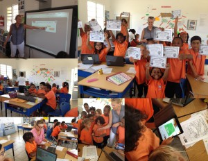 Collage Hour of Code workshop