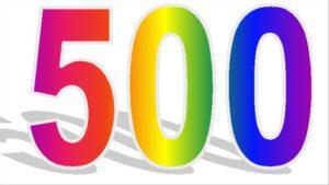 500 stuks