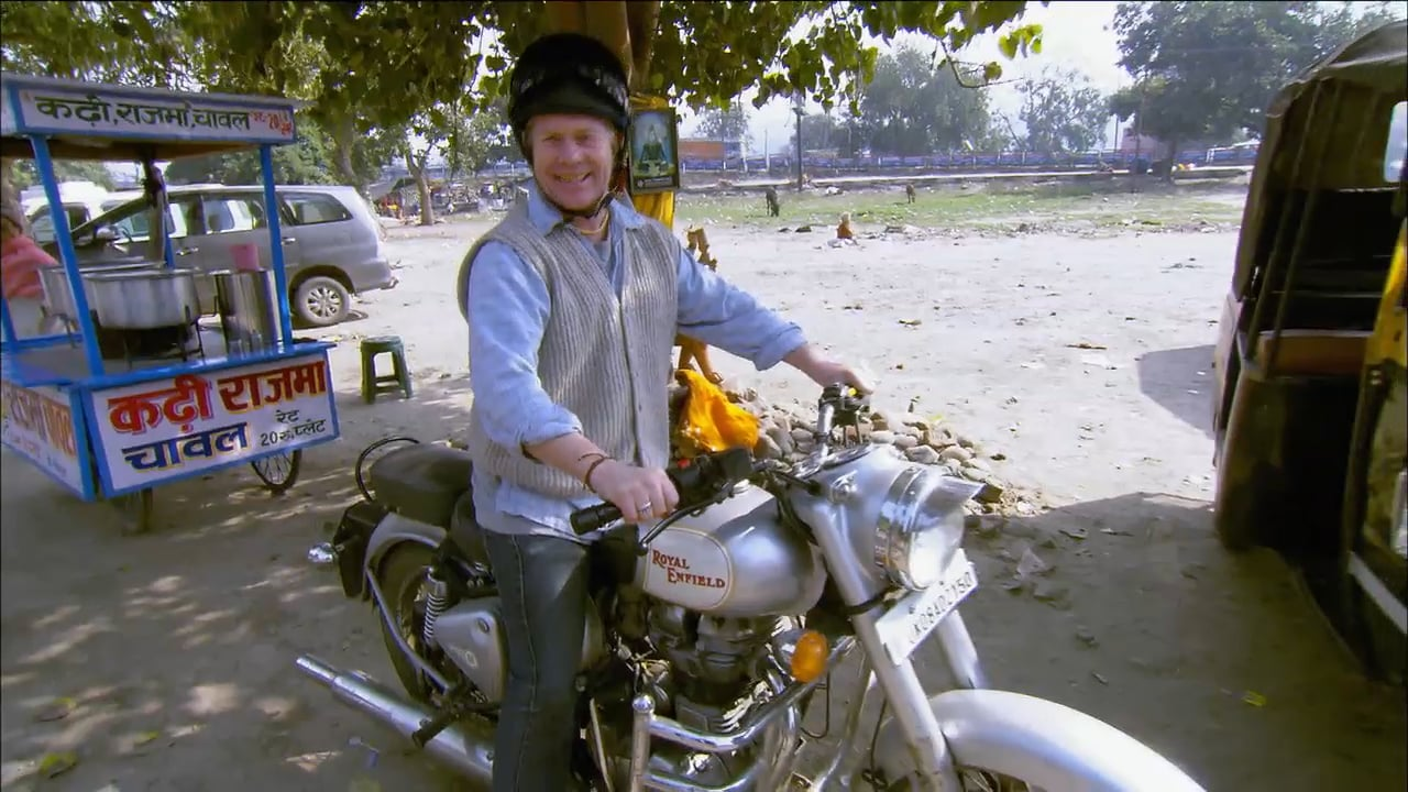 Globetrekker - Ian Wright in India