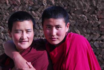 Sakya Monastery Monks