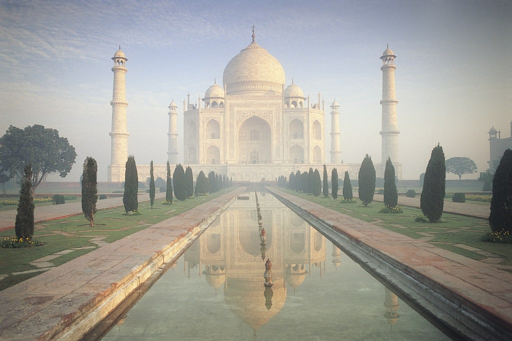 Early morning at the Taj Mahal, Agra. India.
