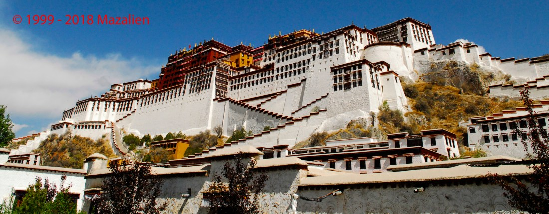 The Potala Palaca - Lhasa - Tibet