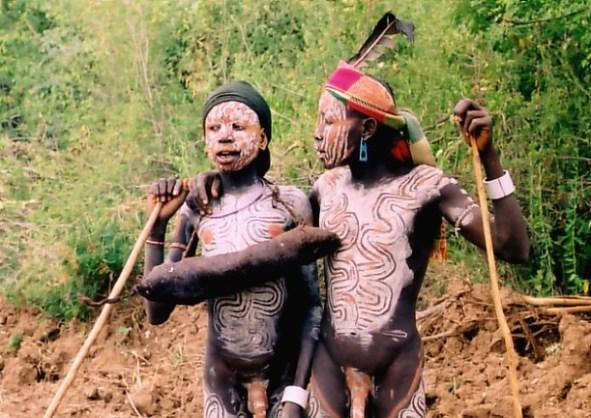 Ethiopian Boys by Krzysztof Pakulski