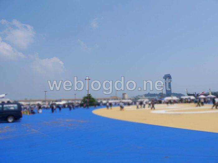 大洗港海の月間イベント艦艇公開第4埠頭