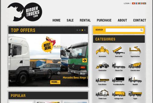 Binder Trucks