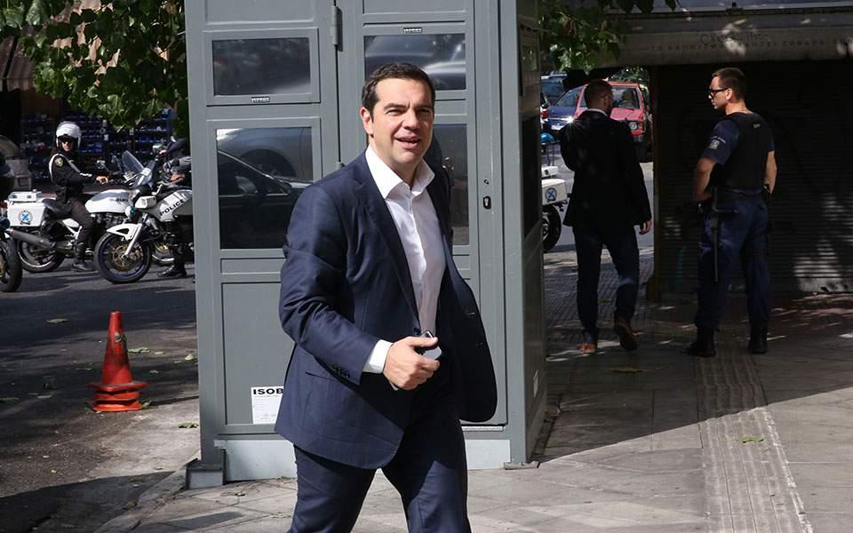 Στην Κουμουνδούρου ο Αλ. Τσίπρας - Συνεδρίασε η Πολιτική Γραμματεία ΣΥΡΙΖΑ | ΠΟΛΙΤΙΚΗ