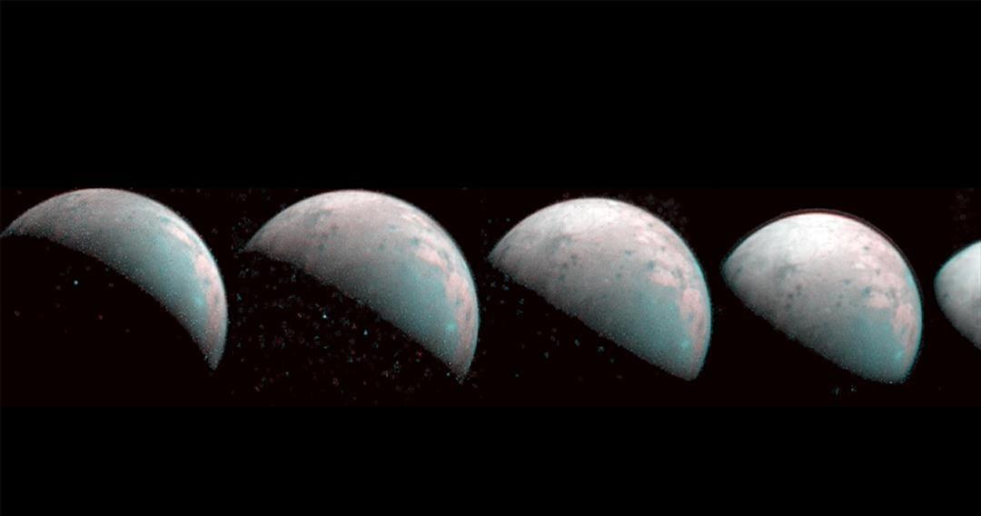 Πρώτες εικόνες από τον βόρειο πόλο του γιγαντιαίου φεγγαριού του Δία