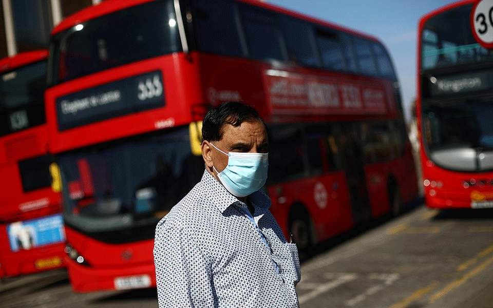 Βρετανία: 1.715 ημερήσια κρούσματα κορωνοϊού κατέγραψαν οι αρχές | Κόσμος