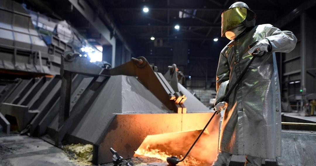 Μειώθηκε 11,1% ο γενικός δείκτης τιμών εισαγωγών στη βιομηχανία