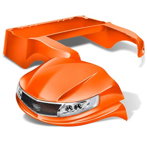 phoenix orange - Custom Makeover for your Club Car Precedent