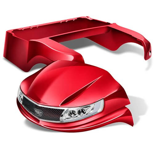 phoenix red - Custom Makeover for your Club Car Precedent