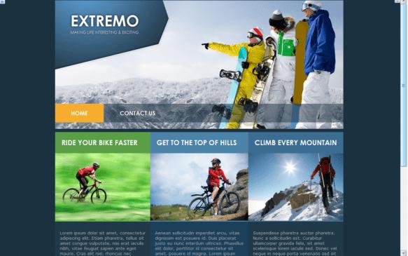 Mountain Trekking Theme Sample