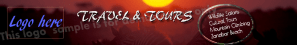 Travel Website Banner Example