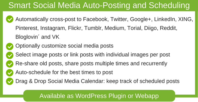 Automate your WordPress Site with Blog2Social Plugin for Fast and Great SEO