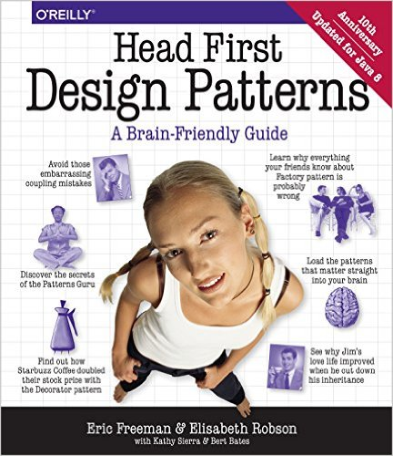 stackoverflow - Head First Design Patterns A Brain-Friendly Guide