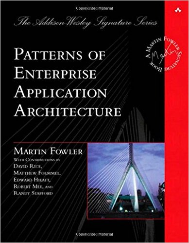 stackoverflow - Patterns of Enterprise Application Architecture