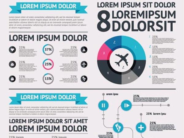 vector-infographics-charts-workflow