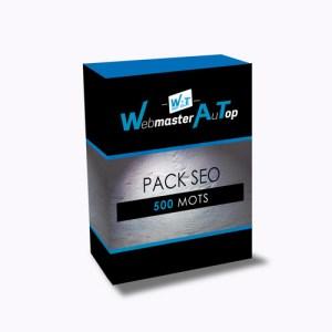 Webmaster référenceur SEO à Toulouse, votre Pack SEO 500 mots