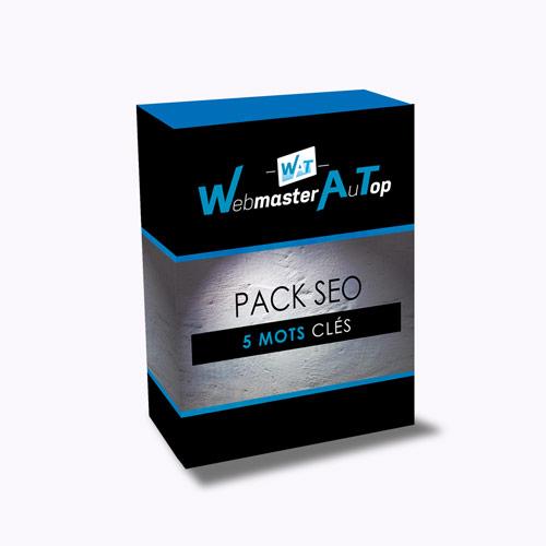 Pack SEO 5 Mots Clés