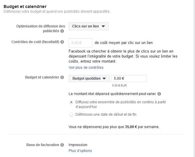 quel budget pour vos campagnes de publicité Facebook