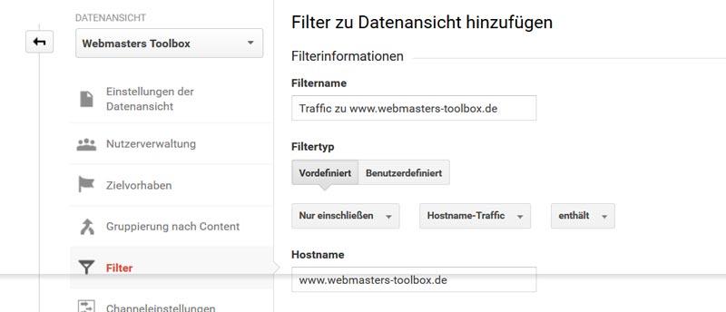 Traffic Filter