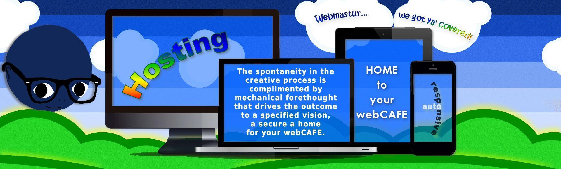 webmastur slides 3 hosting
