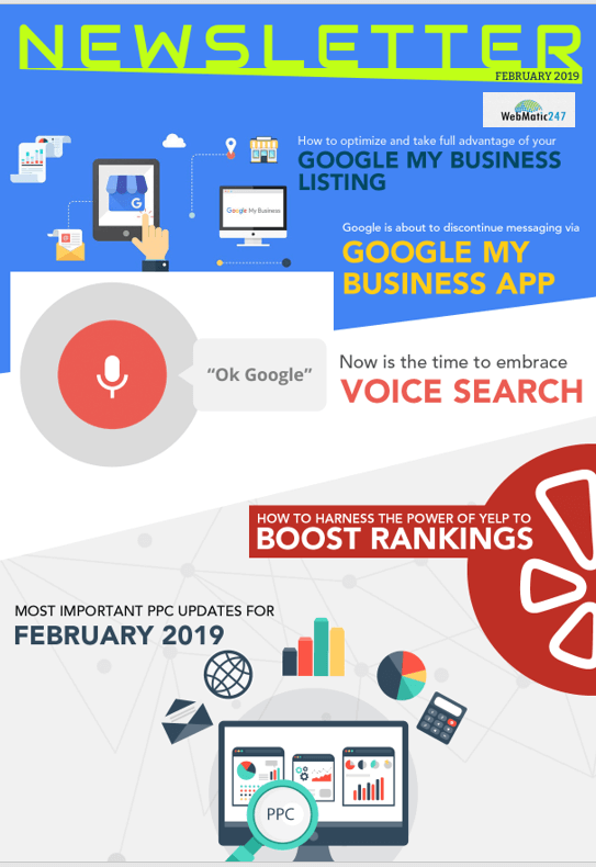 Feb 2019 SEO News letter