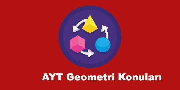 AYT Geometri Konuları ve Soru Dağılımları