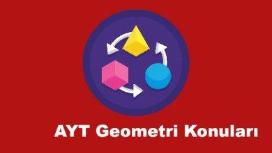 Photo of AYT Geometri Konuları ve Soru Dağılımları