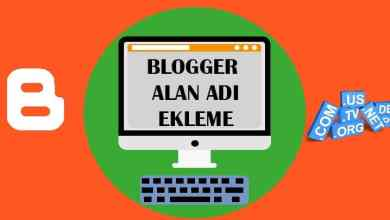 Photo of Blogger'a Özel Alan Adı Bağlama