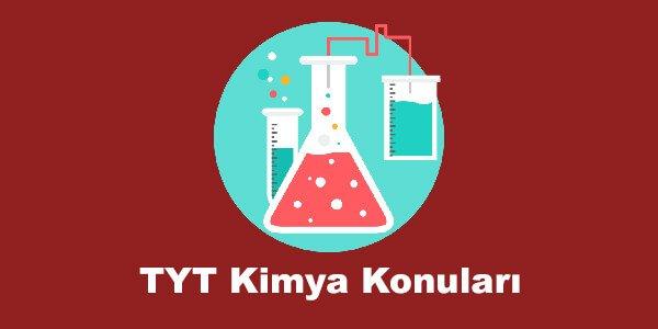 TYT Kimya Konulari