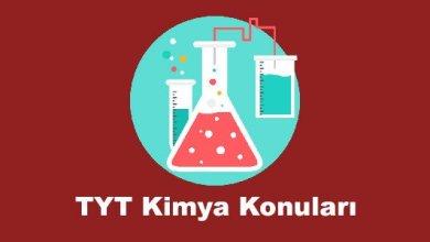 Photo of TYT Kimya Konuları ve Soru Dağılımları – YKS