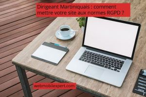 dirigeant martiniquais comment mettre site aux normes RGPD