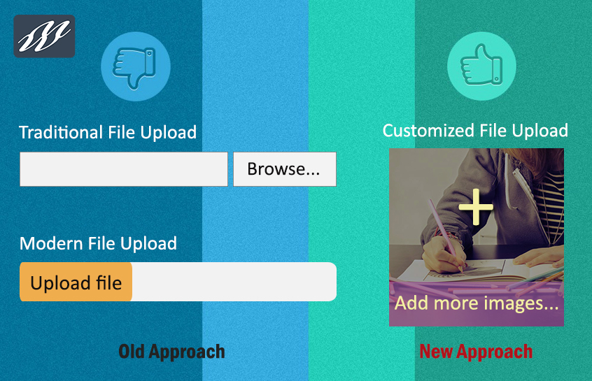 How To Customize File Upload Button Using CSS3, Javascript