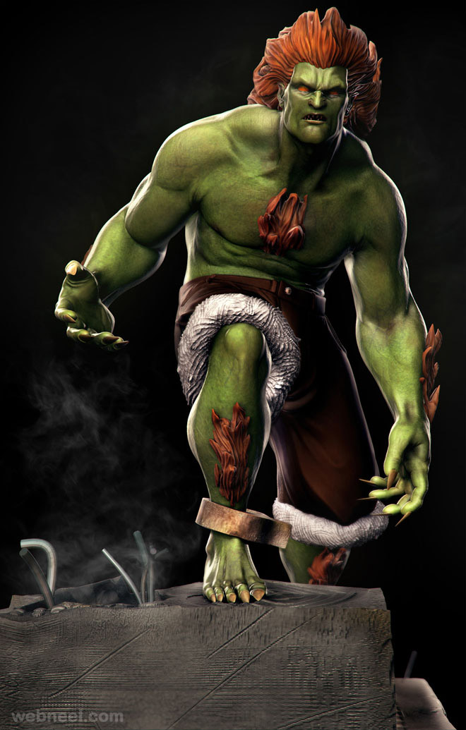 Funny Animated Hd Wallpapers 25 Most Beautiful 3d Game Models And Character Designs