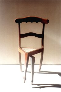 funny wooden chair design